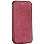 Чехол-книжка кожаный Fashion Case Slim-Fit для iPhone 6S / 6 (4.7) Бордовый