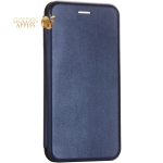 Чехол-книжка кожаный Fashion Case Slim-Fit для iPhone 8 Plus (5.5) Blue Синий