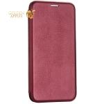 Чехол-книжка кожаный Fashion Case Slim-Fit для iPhone 7 (4.7) Бордовый