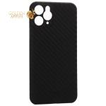 Чехол-накладка карбоновая K-Doo Air Carbon 0.45мм для iPhone 11 Pro Max (6.5) Черная