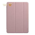 Чехол-подставка Deppa Wallet Onzo Basic для iPad (10.2) 2019г. Soft touch 1.0 мм (D-88057) Розовый
