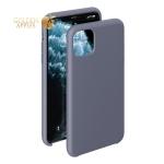 Чехол-накладка силикон Deppa Liquid Silicone Case D-87477 для iPhone 11 Pro (5.8) 1.5 мм Серо-лавандовый