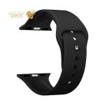 Ремешок силиконовый Deppa Band Silicone D-47129 для Apple Watch 44 мм/ 42 мм Черный