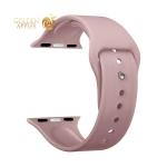 Ремешок силиконовый Deppa Band Silicone D-47131 для Apple Watch 44 мм/ 42 мм Розовый