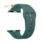 Ремешок силиконовый Deppa Band Silicone D-47133 для Apple Watch 44 мм/ 42 мм Зеленый