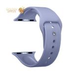 Ремешок силиконовый Deppa Band Silicone D-47135 для Apple Watch 44 мм/ 42 мм Лавандовый