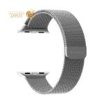 Ремешок из нержавеющей стали Deppa Band Mesh D-47147 для Apple Watch 44 мм/ 42 мм Серебристый