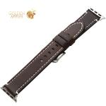Ремешок кожаный COTEetCI W35 Homag Leather Band (WH5259-BR) для Apple Watch 44 мм/ 42 мм Коричневый