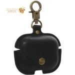 Чехол с кнопкой и карабином PU case COTEetCI для Airpods Pro (CS8145-BK) Черный