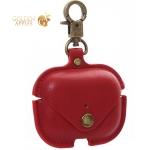 Чехол с кнопкой и карабином PU case COTEetCI для Airpods Pro (CS8145-RD) Красный