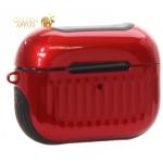 Чехол противоударный LUGGAGE Case COTEetCI для Airpods Pro (CS8150-RB) Черно-красный