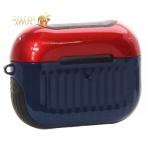 Чехол противоударный LUGGAGE Case COTEetCI для Airpods Pro (CS8150-RBB) Черно-красно-синий