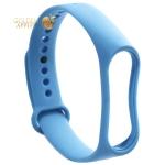 Сменный ремешок Xiaomi Mi Band 4/ 3 (гипоаллергенный силикон) Синий