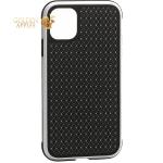 Чехол-накладка противоударная K-Doo Hera (Metal+TPU+PC) для iPhone 11 Pro (5.8) Серебристо-черный