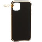 Чехол-накладка противоударная K-Doo Hera (Metal+TPU+PC) для iPhone 11 (6.1) Золотисто-черный