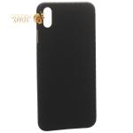Чехол-накладка карбоновая K-Doo Air Carbon 0.45 мм для iPhone XS Max (6.5) Черная