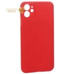 Чехол-накладка пластиковая K-Doo Air Skin 0.3 мм для iPhone 11 (6.1) Красная