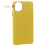 Чехол-накладка кожаная K-Doo Noble Collection (PC+PU) для iPhone 11 Pro (5.8) Желтая