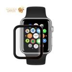 Стекло защитное Protection PMMA Deppa D-62617 для Apple Watch 5/4 series (44 мм) черная рамка