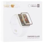 Стекло защитное Hoco Curved High-definition silk screen для Apple Watch Series 5/ 4 (40 мм) черная рамка