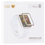 Стекло защитное Hoco Curved High-definition silk screen для Apple Watch Series 5/ 4 (44 мм) черная рамка