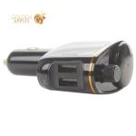 Разделитель автомобильный Baseus Locomotive S-06 с FM-трансмитером Wireless MP3 Vehicle Charger (CCALL-RH01) Черный