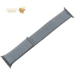 Ремешок COTEetCI W17 Magic Tape Band (WH5226-FH-42) для Apple Watch 44 мм/ 42 мм Темно-серый