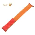 Ремешок COTEetCI W17 Magic Tape Band (WH5226-SL-42) для Apple Watch 44 мм/ 42 мм Гранатовый