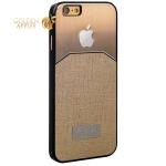 Противоударный чехол-накладка для iPhone 6S / 6 KEY, цвет золотистый