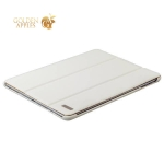 Чехол кожаный i-Carer Ultra-thin для iPad Air genuine leather series (RID501wh) белый