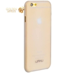 Пластиковый чехол-накладка для iPhone 6S Plus / 6 Plus Umku Jeans Soft-touch, цвет белый