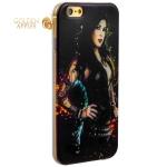 Чехол-накладка UV-print для iPhone 6S / 6 (4.7) силикон (18+) тип 105
