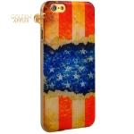 Чехол с рисунком для iPhone 6S / 6 GA-Print Американский флаг вид 45
