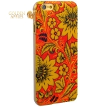Чехол-накладка UV-print для iPhone 6s Plus / 6 Plus (5.5) пластик (цветы) тип 39