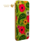 Чехол с рисунком для iPhone 6S / 6 GA-Print Арт цветы вид 58