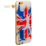 Чехол с рисунком для iPhone 6S / 6 GA-Print Британский флаг вид 44