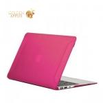 Чехол для Apple MacBook Air 11 BTA-Workshop матовый, цвет розовый