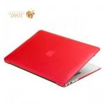 Чехол для Apple MacBook Air 13 BTA-Workshop матовый, цвет красный