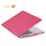 Чехол для Apple MacBook Pro Retina 13 BTA-Workshop матовый, цвет розовый