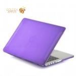 Чехол для Apple MacBook Pro Retina 13 BTA-Workshop матовый, цвет фиолетовый
