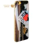 Чехол-накладка UV-print для iPhone 6S / 6 (4.7) силикон (города) тип 002