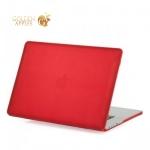 Чехол для Apple MacBook Pro Retina 15 BTA-Workshop матовый, цвет красный