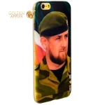 Чехол-накладка UV-print для iPhone 6S / 6 (4.7) силикон (тренд) Рамзан Кадыров тип 002