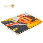 Кожаный чехол книжка для iPad 4 / 3 / 2 Jisoncase Executive Print с рисунком Рамзан Кадыров вид 3