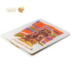 Кожаный чехол книжка для iPad 4 / 3 / 2 Jisoncase Executive Print с рисунком Победа 1945 вид 3