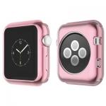 Силиконовый чехол для Apple Watch Series 2 / 3 (42 mm) COTEetCI TPU case (CS7041-MRG), цвет розовое золото