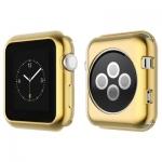 Силиконовый чехол для Apple Watch Series 2 / 3 (42 mm) COTEetCI TPU case (CS7041-CE), цвет золотистый