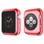 Силиконовый чехол для Apple Watch Series 2 / 3 (42 mm) COTEetCI TPU case (CS7041-RD), цвет красный